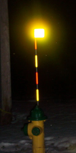 HyViz's hydrant markers, driveway markers, safety vests and other custom made reflective products!